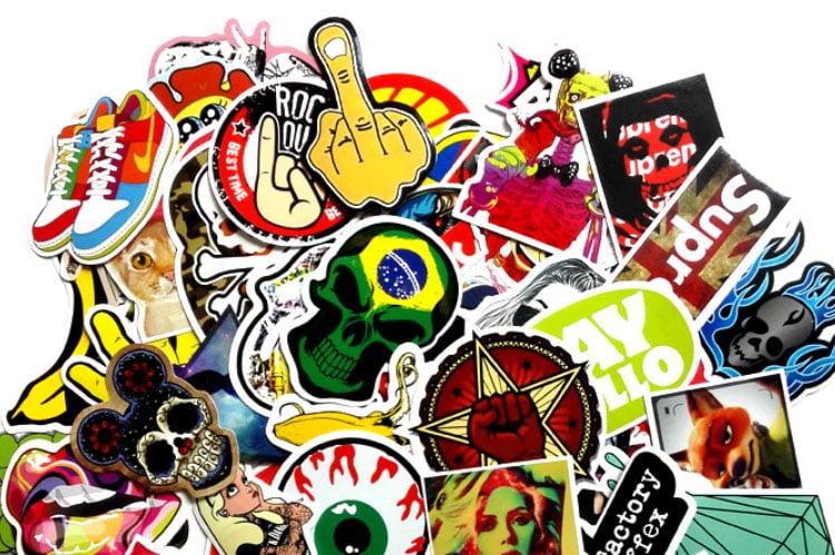 Eco-solvent Vinyl Die Cut Sticker Printing